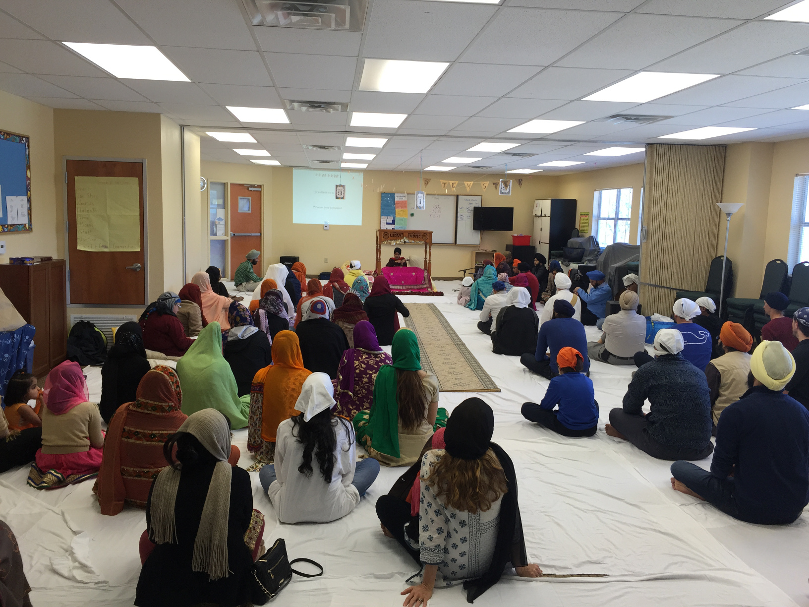 Sangat Enjoying Kirtan